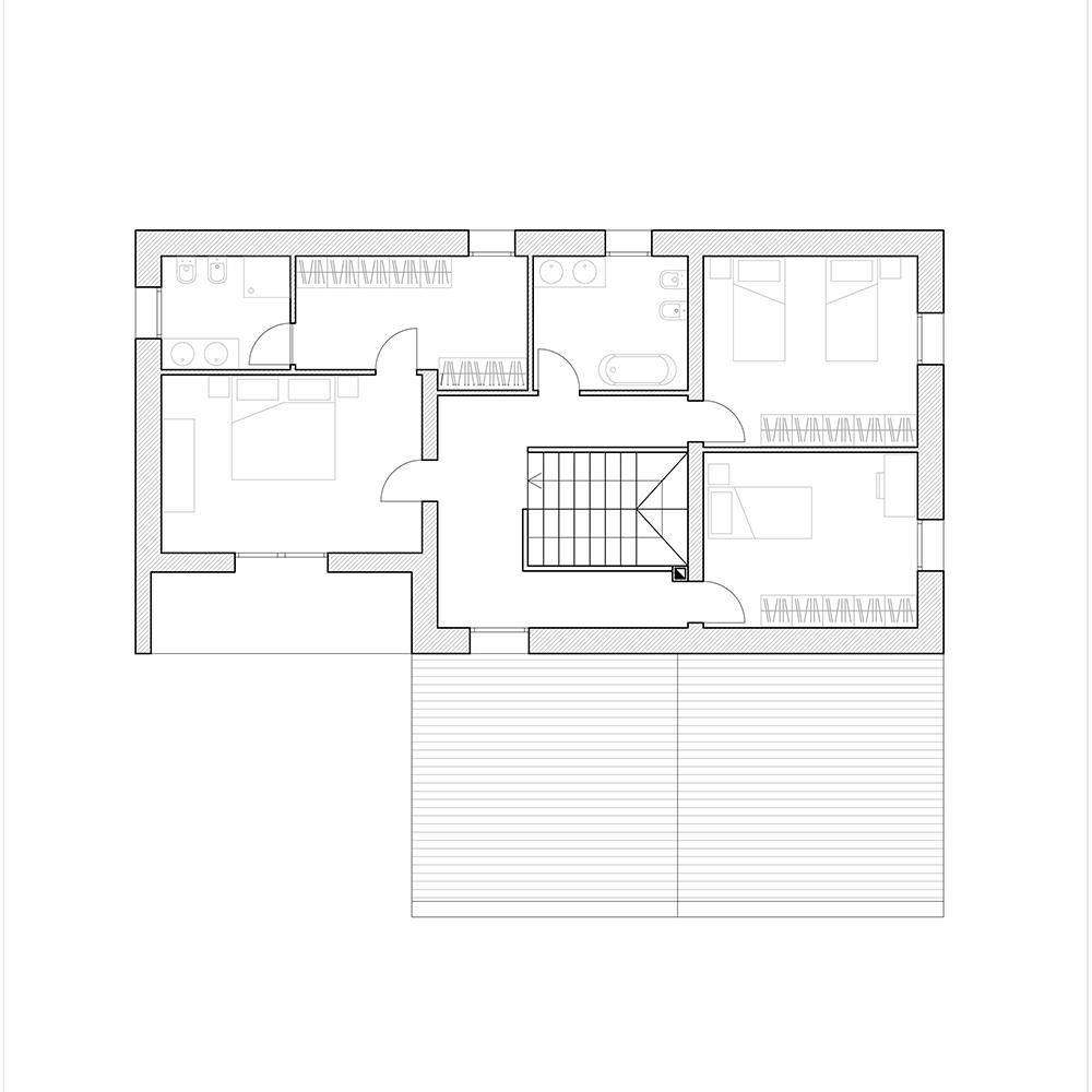 Primo piano casa f metrocubo for Casa piano diviso